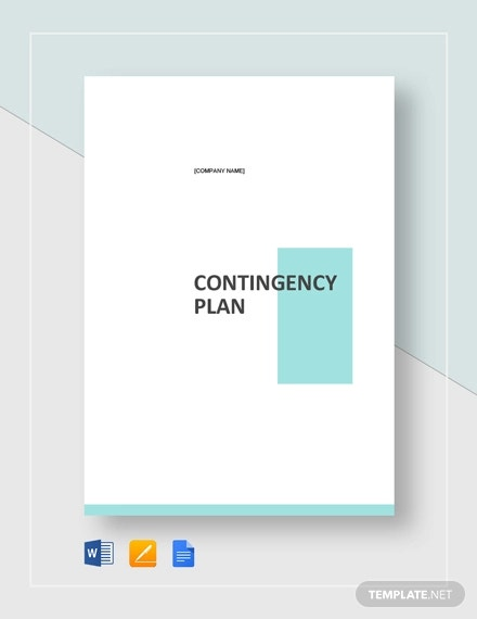 10 Contingency Plan Templates Word Pdf Free Premium