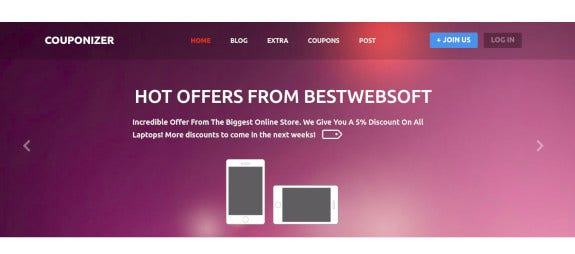 couponize-responsive-coupons-and-promo-template