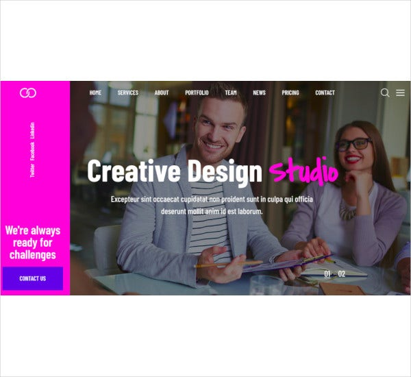 creative-one-page-parallax-wordpress-theme