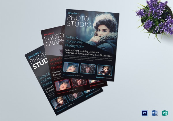 Free Photography Flyer Template Flyerheroes Photography Brochure