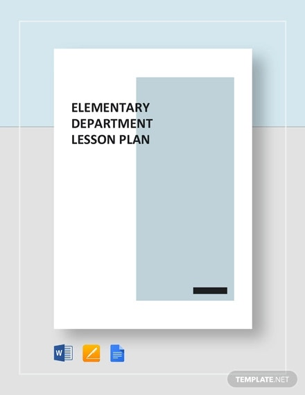 elementary lesson plan template1