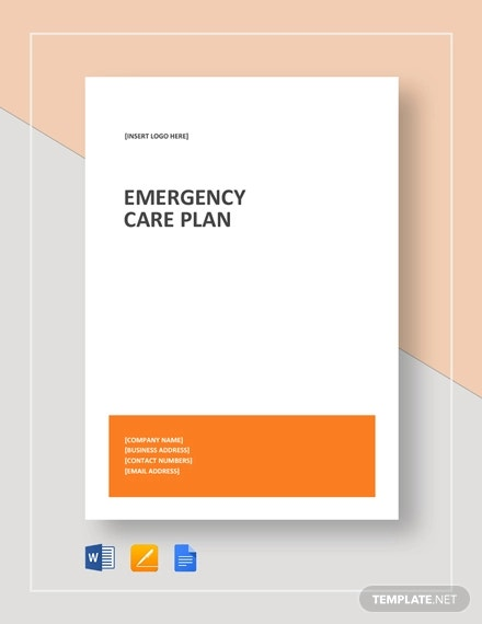 16 Emergency Plan Templates Free Sample Example Format Download Free Premium Templates