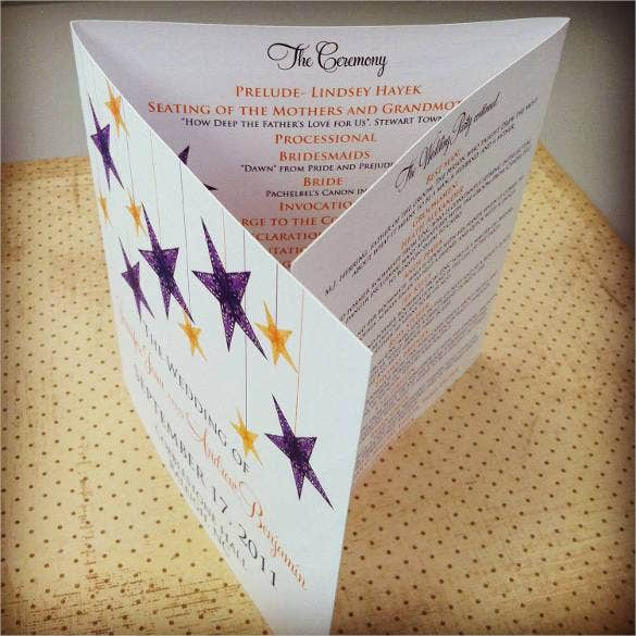 example-of-trifold-wedding-program-template