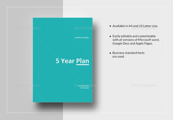 five-year-plan-template