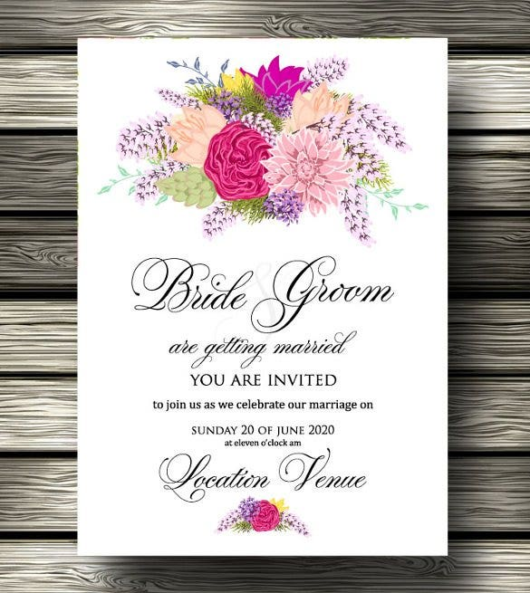 Wedding Program Template - 61+ Free Word, Pdf, Psd Documents