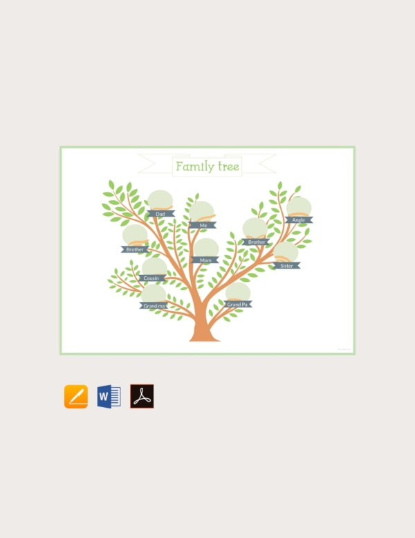 free example of family tree