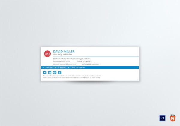 gmail email signature template