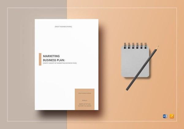 marketing-business-plan-template