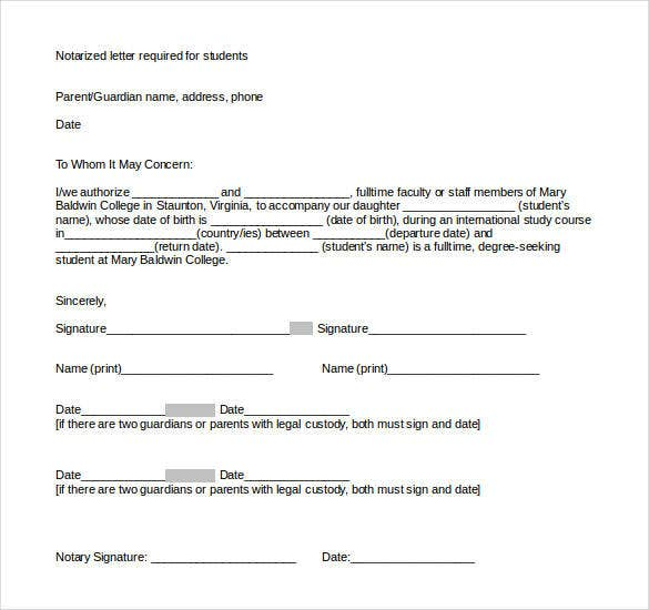 notarized-document-format-template