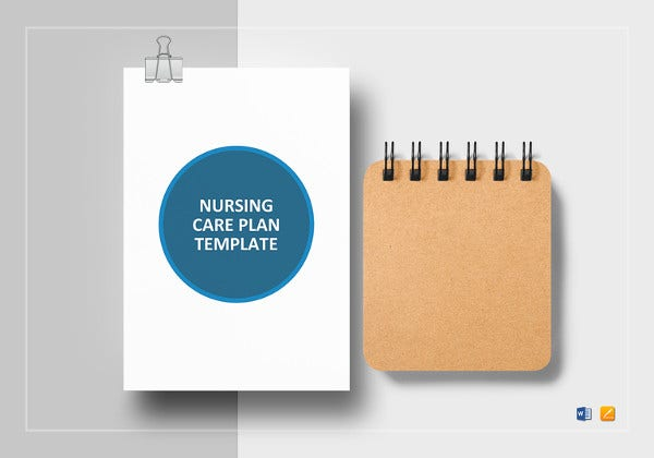nursing care plan template in apple pages