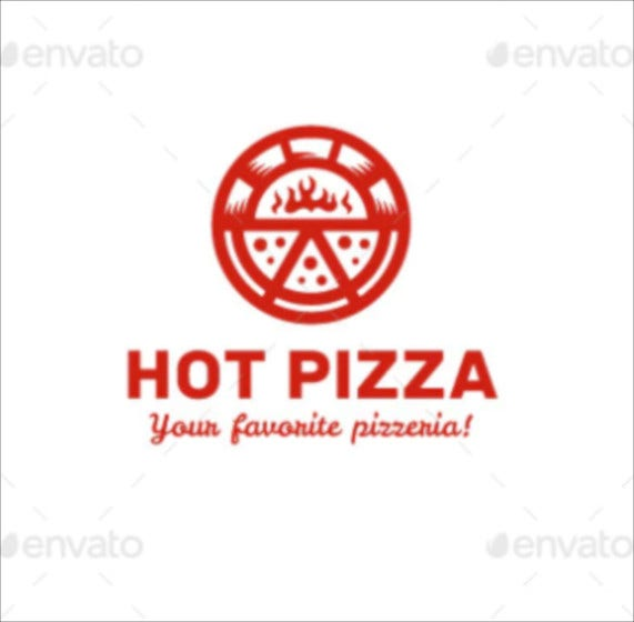 premium pizza logo templates
