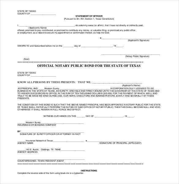 photograph relating to Printable Notary Forms Texas referred to as 32+ Notarized Letter Templates - PDF, Document Cost-free High quality