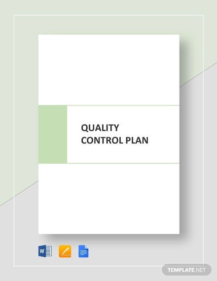 quality control plan template1