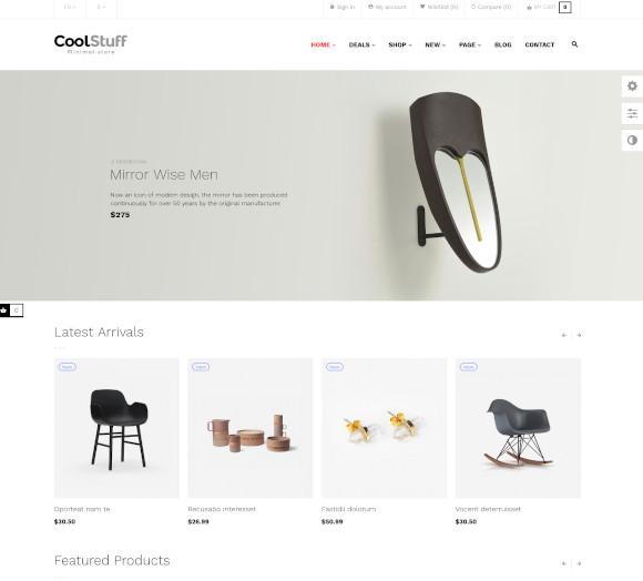 responsive furniture interior prestashop