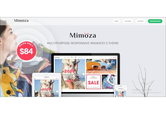 responsive magento fashion website template