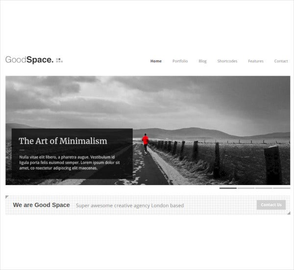 Minimal Responsive Website Template Psd For Free Download: 21+ Portfolio Blog Themes & Templates