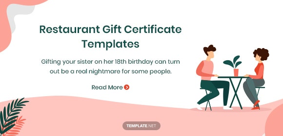restaurantgiftcertificatetemplates