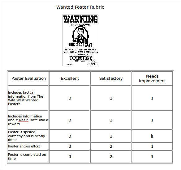 rewarded sample wanted poster template word doc1