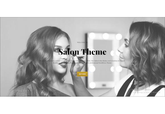 salon wordpress theme for hair beauty salons