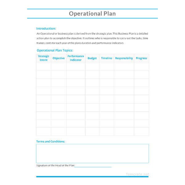 sample-operational-plan-template