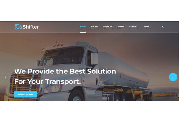 transports logistics html bootstrap template