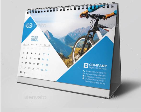 weekly calendar 2020