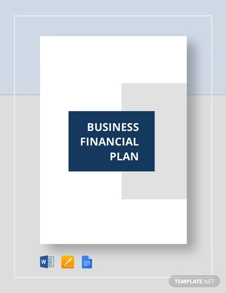 Financial Business Plan Template 18 Word Excel Pdf Format Download Free Premium Templates