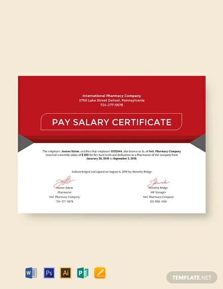 free salary pay