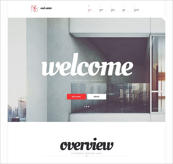 real estate agency responsive php theme