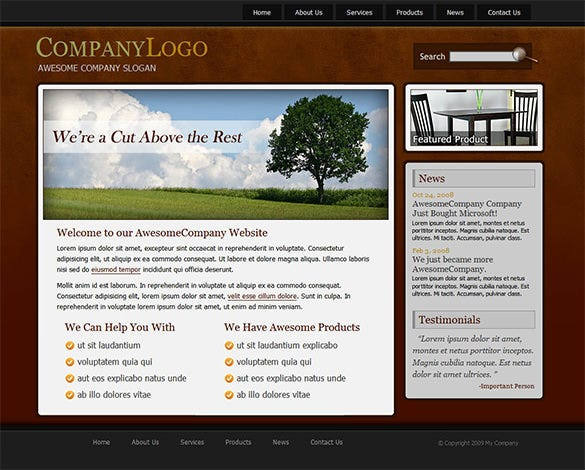 awesome real estate php theme