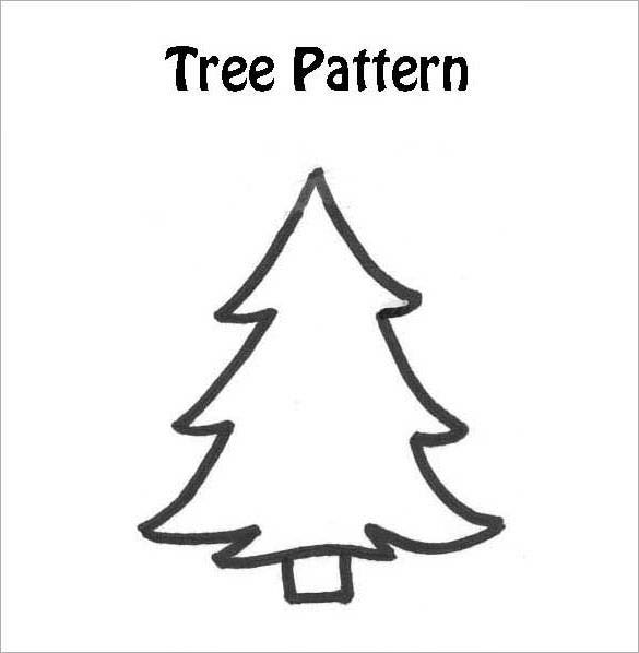 Dashing image regarding christmas tree printable