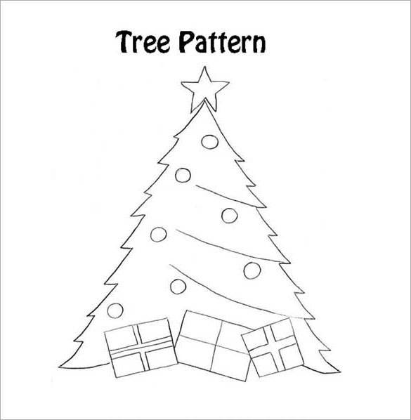 download christmas tree with presents