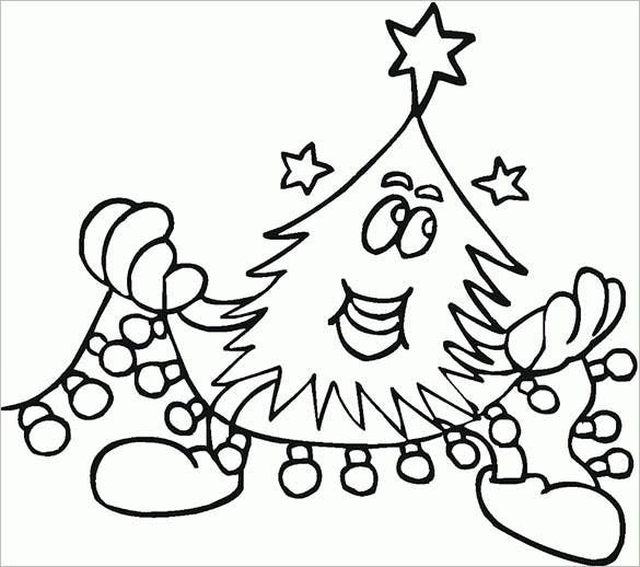 23 Christmas Tree Templates  Free Printable PSD EPS PNG PDF