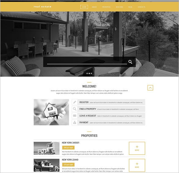 realtors php theme download