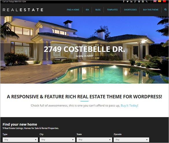 pro real estate responsive php theme