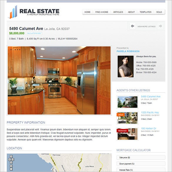 real estate php theme download1