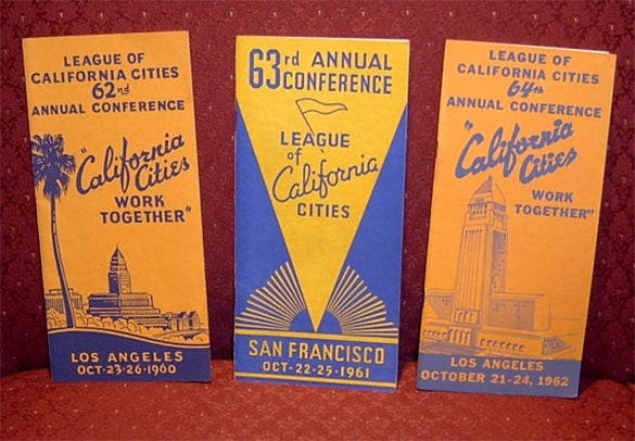 brochure league of california cities annual conference programs