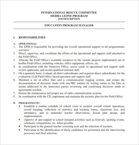 Retail operations manager resume sales lewesmr sample for sle
