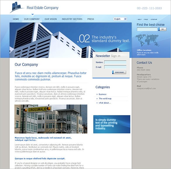 premium real estate php theme