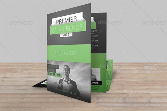 premier conference bifold brochure pack
