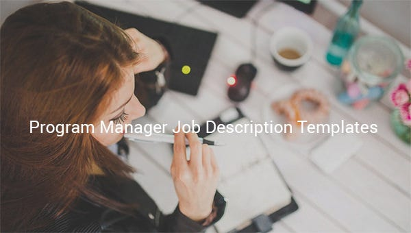 programmanagerjobdescriptiontemplate