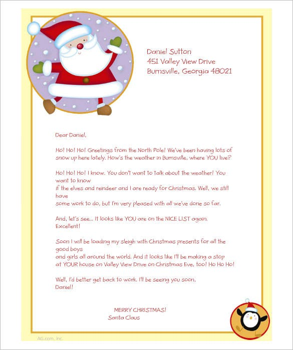 25 christmas stationery templates free psd eps ai illustrator greetings from santa printable christmas stationery download spiritdancerdesigns Images