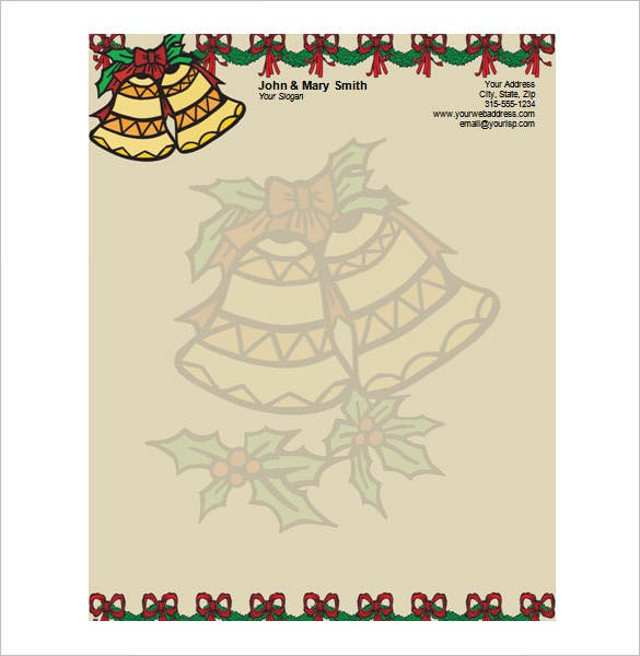 25 christmas stationery templates free psd eps ai illustrator