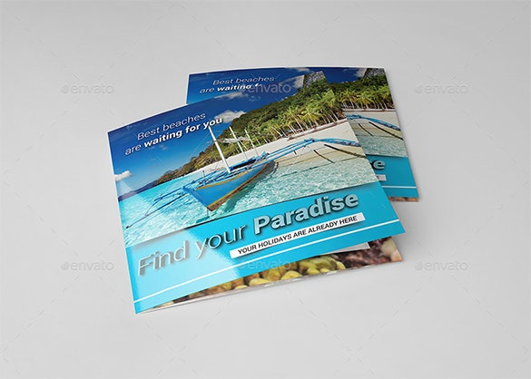 29 Holiday Brochure Templates Free Psd Eps Ai Indesign Word