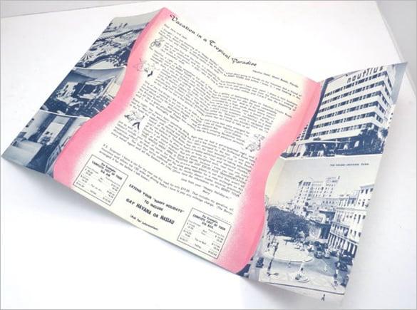 a happy holiday in miami beach florida vintage brochure
