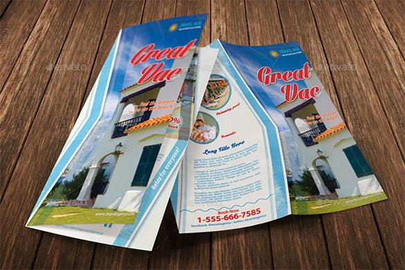villa holiday vacation bifold brochure 07