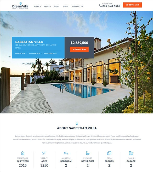 single property real estate wordpress theme1