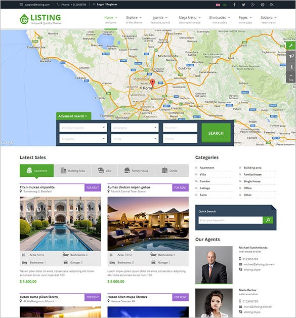 Real Estate Joomla Templates 31+ Real Estate Joomla Themes & Templates | Free & Premium Templates