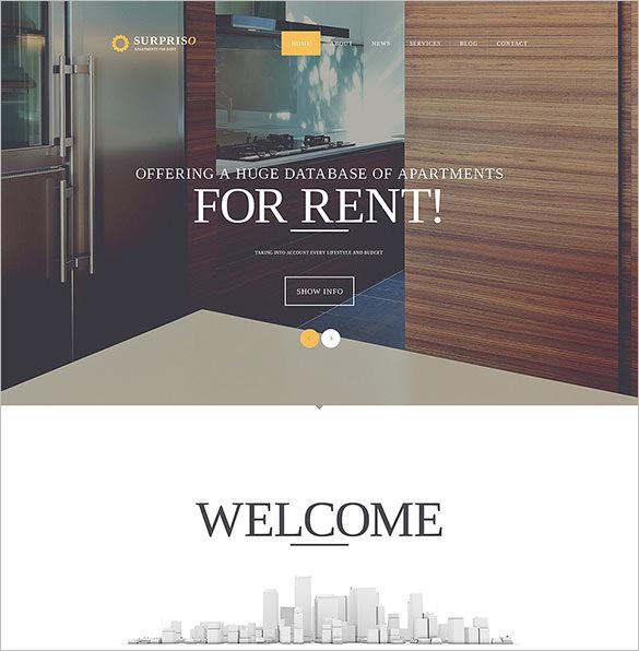 real estate surpriso joomla template