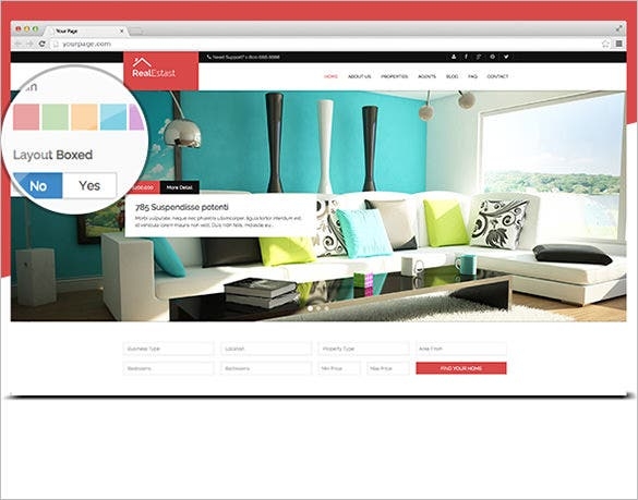 real estate business drupal theme